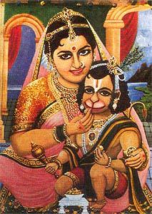 anjana and anjaneya