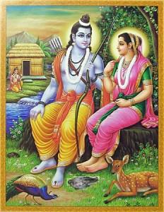 मां सीता काकासुरा को बचाती है